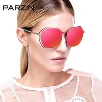 PARZIN Sunglasses Women Vintage Metal Polarized Sunglasses Women Colorful UV Female Driving Sun Glasses Shades With Case 8087