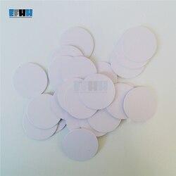 125 кГц EM4305/EM4205 диаметр 25 мм перезаписываемая RFID монетная карта в карточке контроля доступа
