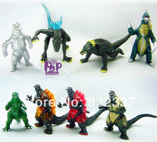 2014 New Arrival High Quality PVC Ultraman Moster action figures 8 pcs/lot for children