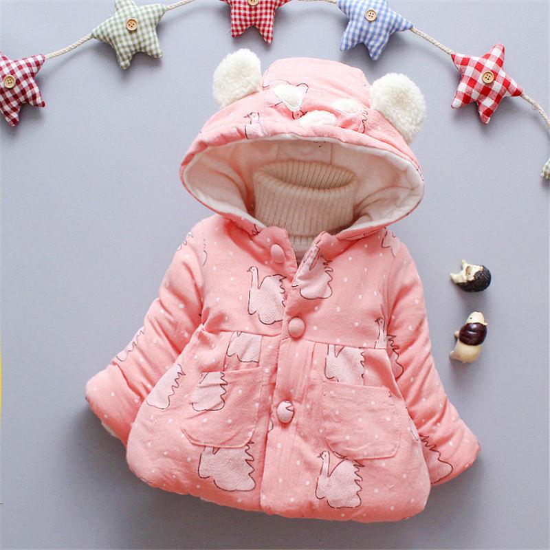 Genossenschaft Bibicola Baby Mädchen Mäntel Winter Neugeborenes Baby Dicken Samt Schnee Tragen Für Bebe Mädchen Kleinkind Cartton Hoodies Infant Oberbekleidung