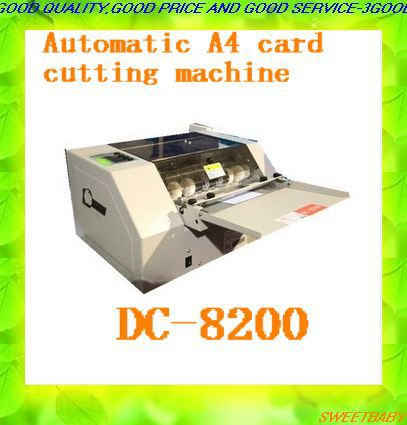 Free shipping business card cutter name card cutting machine free shipping business card cutter name card cutting machineautomatic a4 electronic card cutter reheart Image collections