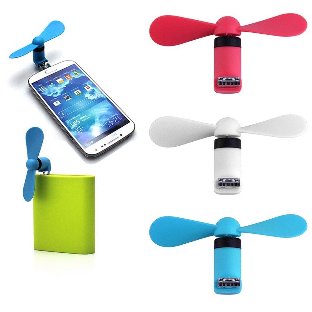 Portable Otg Mini Micro Usb Large Wind Cooling Fan For Phone Desktop