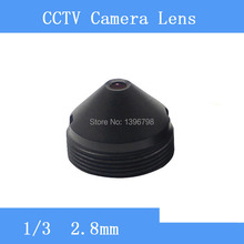 Infrared surveillance camera HD 1.3MP pinhole lens 2.8mm M12 thread CCTV lenses