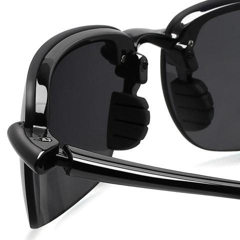 JULI Classic Sports Sunglasses Men Women Driving Running Rimless Ultralight Frame Sun Glasses Male UV400 Gafas De Sol MJ8001 Islamabad