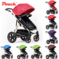 Deluxe Edition Pouch High Landscape Baby Stroller Four-way Baby/Children  Folding Stroller Can Sit or Lie Multifunction Stroller
