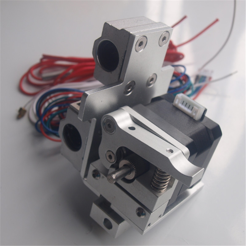 A Funssor 1set* MK10 extrusion upgrade kit for Prusa i3 aluminum alloy extruder and metal x extrusion carriage