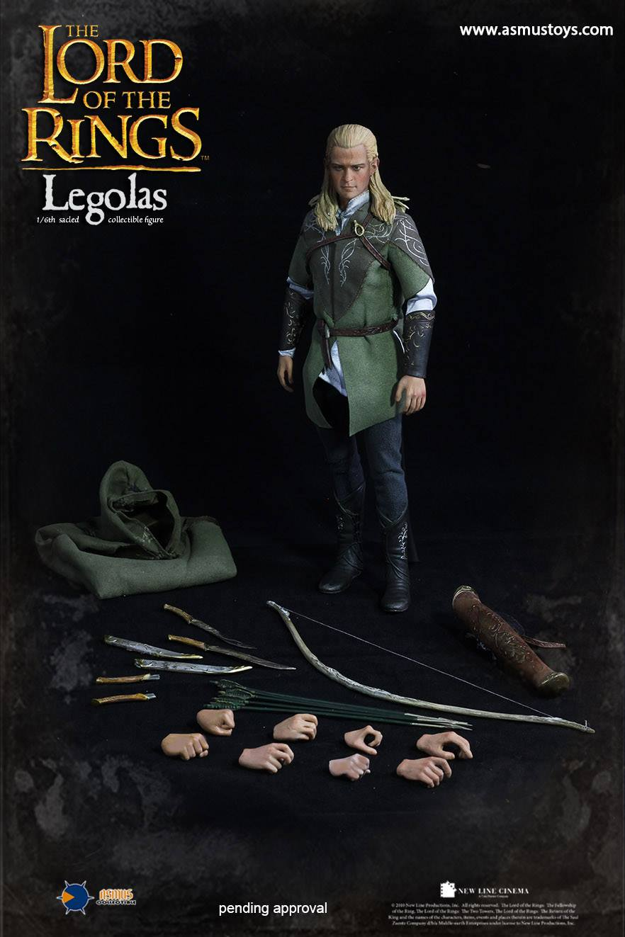 Original HT Hottoys Asmus Toys LOTR010LUX 1/6 Asmus Toys The Lord of the Rings Series Legolas Model Collection Action Figure 1 6 scale full set soldier the lord of the rings elven prince legolas action figure toys model for collections