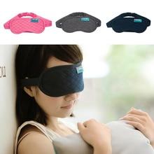 Dormir Máscara de Ojos de viaje Del Sueño Del Algodón Máscara Blindfold Antifaz Párr Sueño Eye Mask Dormir Máscara Para Dormir Parche En El Ojo