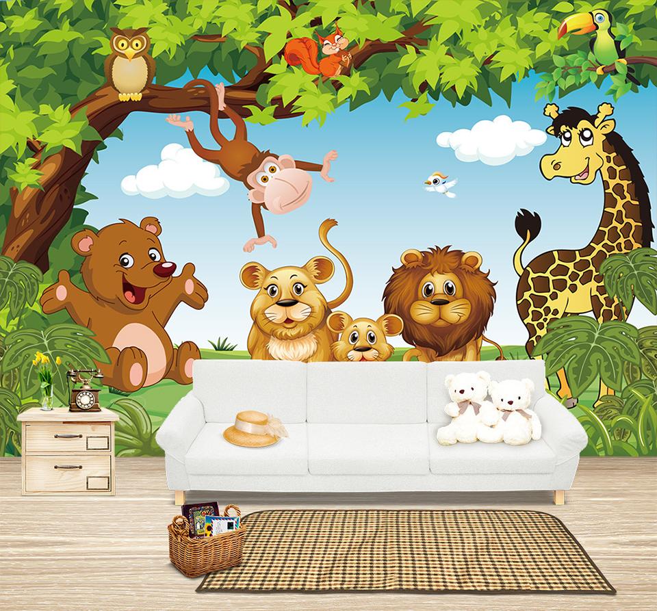HTB1E8P5QpXXXXatXFXXq6xXFXXXw - Cartoon Animation child room wall mural for kids room boy/girl bedroom wallpapers 3D mural wallpaper custom any size