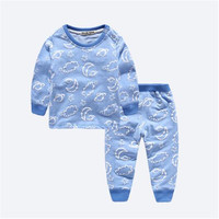 New Arrival Baby Boys Girls Long Johns Child Underwears Clothing Set Kids Shirt Pants Suit Winter