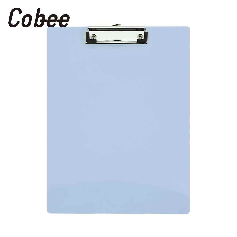 Menulis A4 Pad Paper Clip Kantor Clipboard Papan PP File Folder Bisnis Nyaman Ujian Kertas Papan Tikar