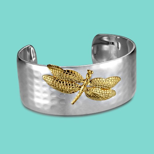 Promotion,Free shipping,925sterling silver classic bangle,1837 gold style wholesale favorite dragonfly bangle Mom/christmas gift