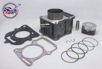63.5mm Cylinder Piston Ring Gasket Kit Water 200CC Zongshen Shineray Bashan Taotao Dirt Bike Pit ATVs Quad