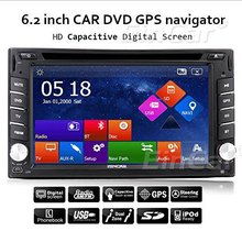 Capacitive Multi-Touch Screen GPS Car Stereo DVD CD Player Radio FM/AM USB/SD Video Audio Auto PC In Dash Navigation Head unit