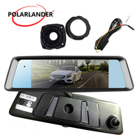 A10 7 DVR Bluetooth FM Transmission 4G Android Rearview Mirror Camera Video Drive Recorder MP5/MP4/RMVB GPS WiFi Touch Screen