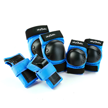 цена на 6 Pcs/lot Kids Tactical Combat Protective Pad Set Professional Gear Sports Military Knee Elbow Protector Elbow & Knee Pads New