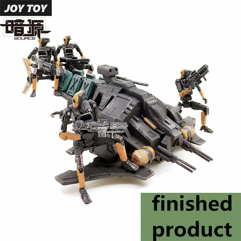 JOY TOY 1:27 action figures Military Grasshopper Raiders Soldier sets Finished Product Free shipping SA-056 free shipping genuine joy toy 1 27 action figure robot military soldier set a birthday present simple packaging