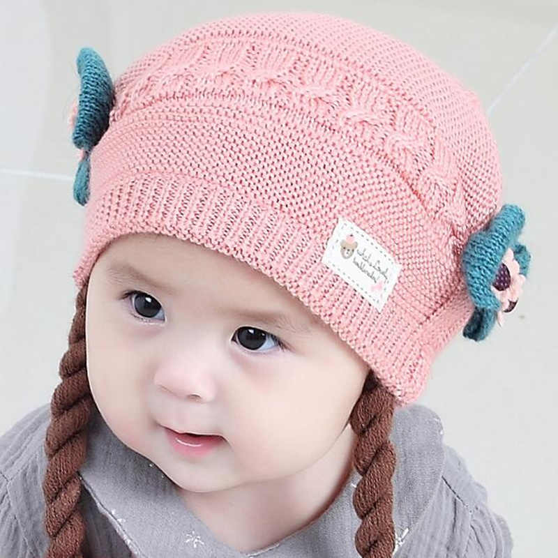a11e4c159344 Detail Feedback Questions about Cute Baby Wig Hats Bow knot Newborn ...