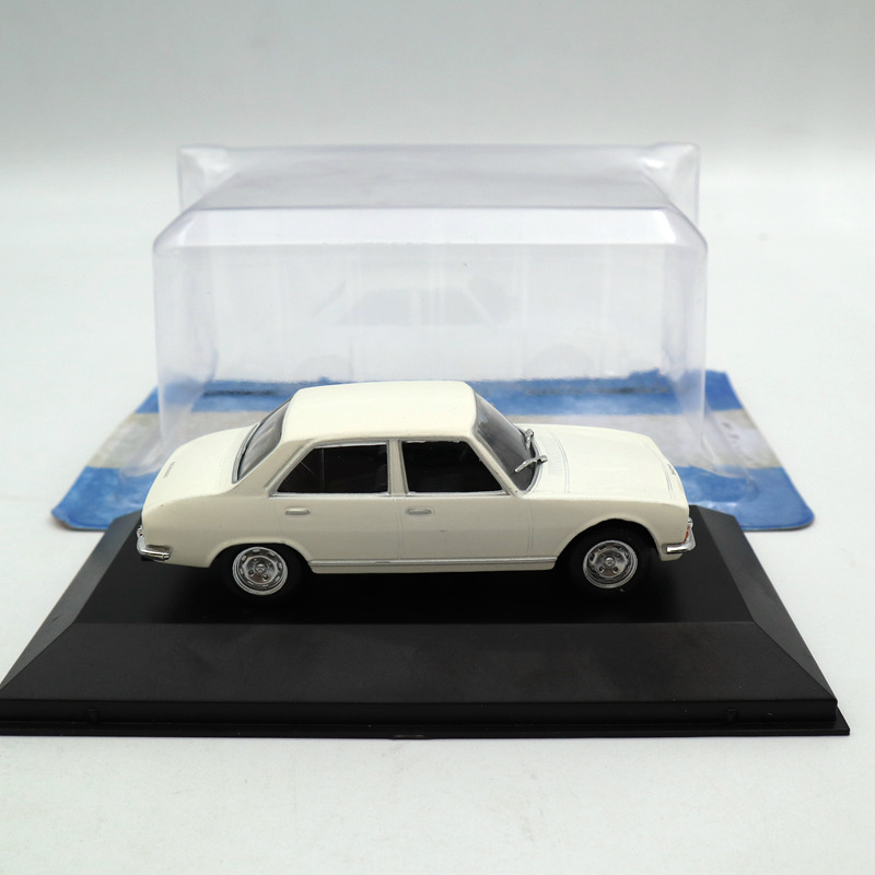IXO Altaya 1:43 Peugeot 504 1969 Diecast Toys Car Models Miniature Collection