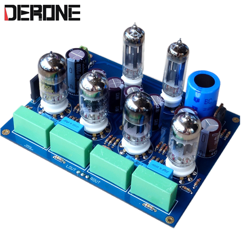 Tube preamplifier Reference Marantz 7 Circuit 12AU7/12AX7+6Z4 finished board/kits мобильный телефон mb526 motorola mb526