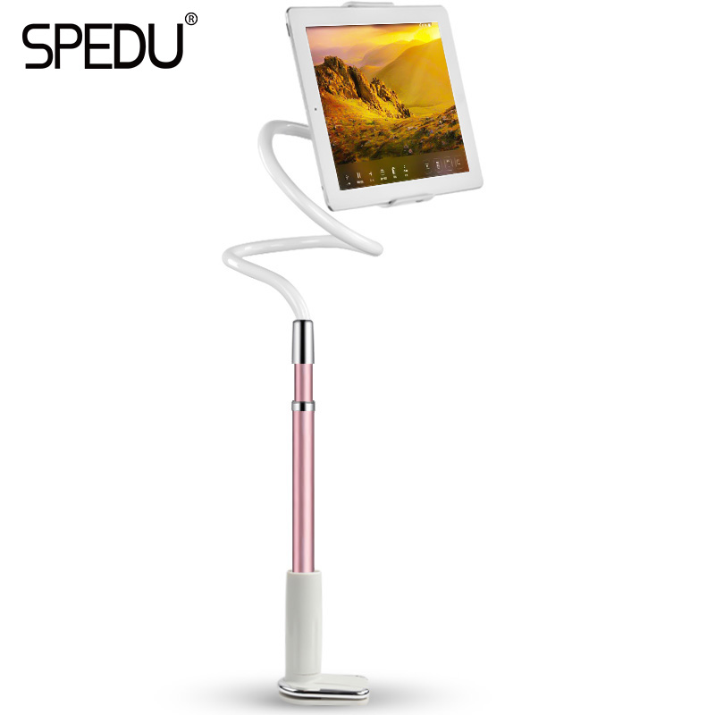 Spedu Tablet Phone Holder For ipad Air mini For iphone Universal Long Arm Lazy Bed Desktop 360 Degree Flexible Stands Holders