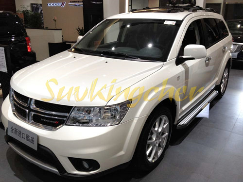 aluminium  dodge journey jcuv     running board side step nerf bar  pedals