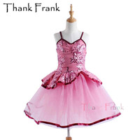New Dance Dress For Girls Ballet Girl Dance Costume Dancing Life Women Leotard Ballet Dresses Professional Ballerina Dress Kids