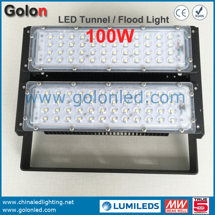 Low Bay Led Warehouse Lighting 100W IP65 Wateproof Outdoor