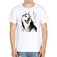 Harajuku Cartoon Erha Fox Wolf TShirt Men's Animal Tops Hipster Tees Off White Men Funny Cotton T Shirts Summer Clothes 2018