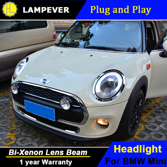 lampever styling for mini f56 cooper led headlights for f56 head