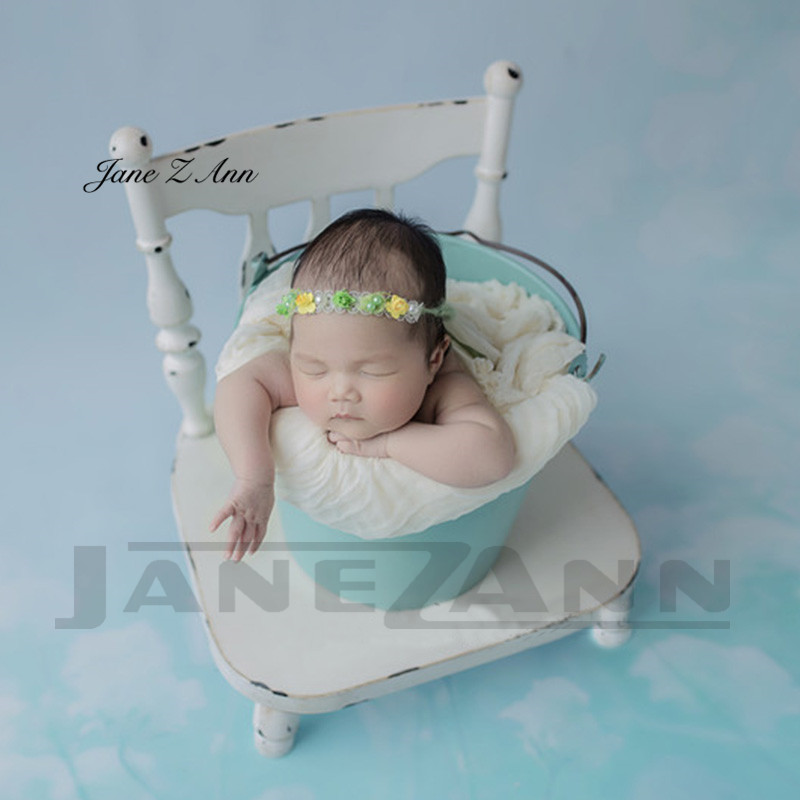Jane Z Ann  Newborn Baby Photography Iron Chair Bed Props Detachable Baby Boy Girl Photo studio shooting posing accessoriesJane Z Ann  Newborn Baby Photography Iron Chair Bed Props Detachable Baby Boy Girl Photo studio shooting posing accessories