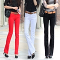 New large size elastic jeans lady micro speaker long pants casual Slim pants (8 colors optional) TB7066