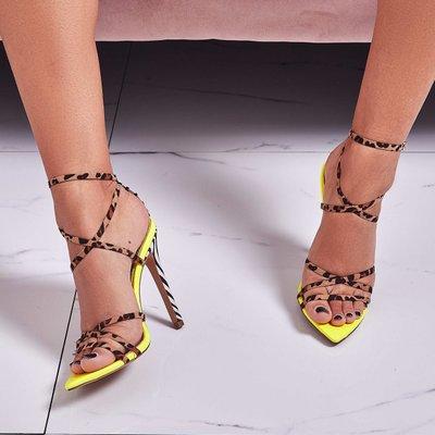 100% QualitäT Europäischen Und Amerikanischen Trend Leopard Farbe Passenden Sexy Mode Wies Hochhackigen Sandalen Große Größe Frauen Schuhe Und Ein Langes Leben Haben.