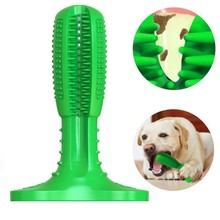 Pet Dog Brush Teeth Rubber Tool&Toy Cleaning Supplies Puppy Chew Molar Toy