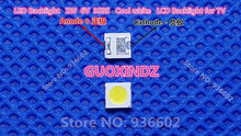 Pour SHARP LED TV Application LCD rétro éclairage pour TV LED LED rétro éclairage 1.2W 6V 3535 3537 blanc froid GM5F20BH20A