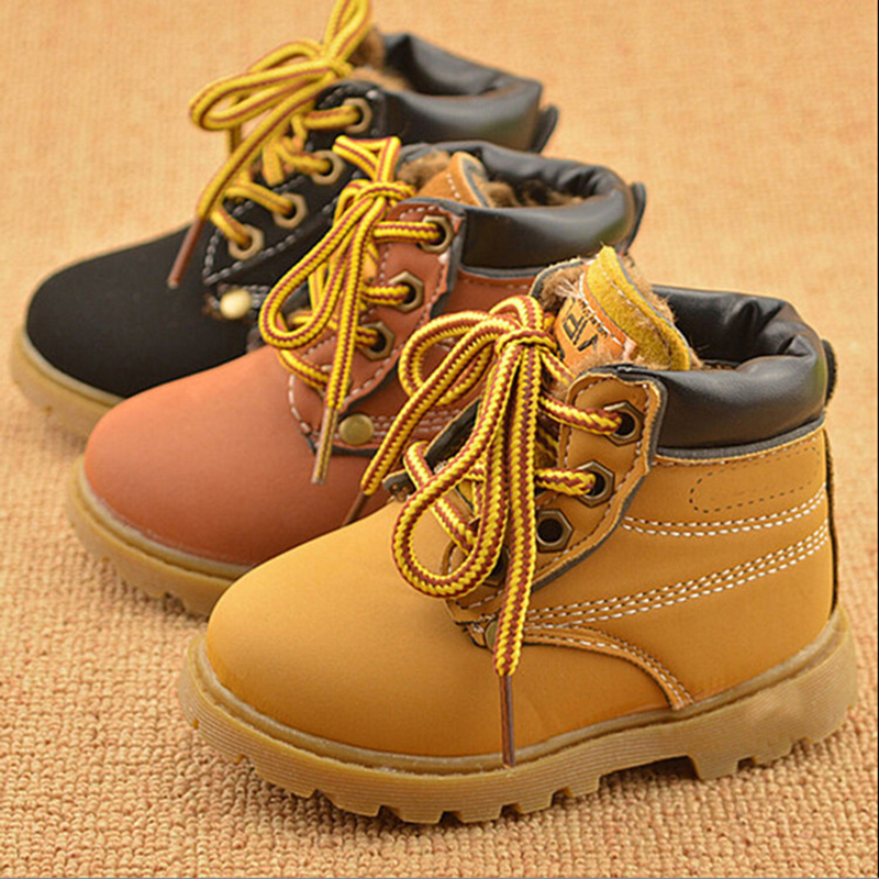 Autunm Winter Girls Boys Fashion Boots Barn Martin Stövlar Barn Stövlar Barn Kids Casual Shoes Sneakers For Boys Girls