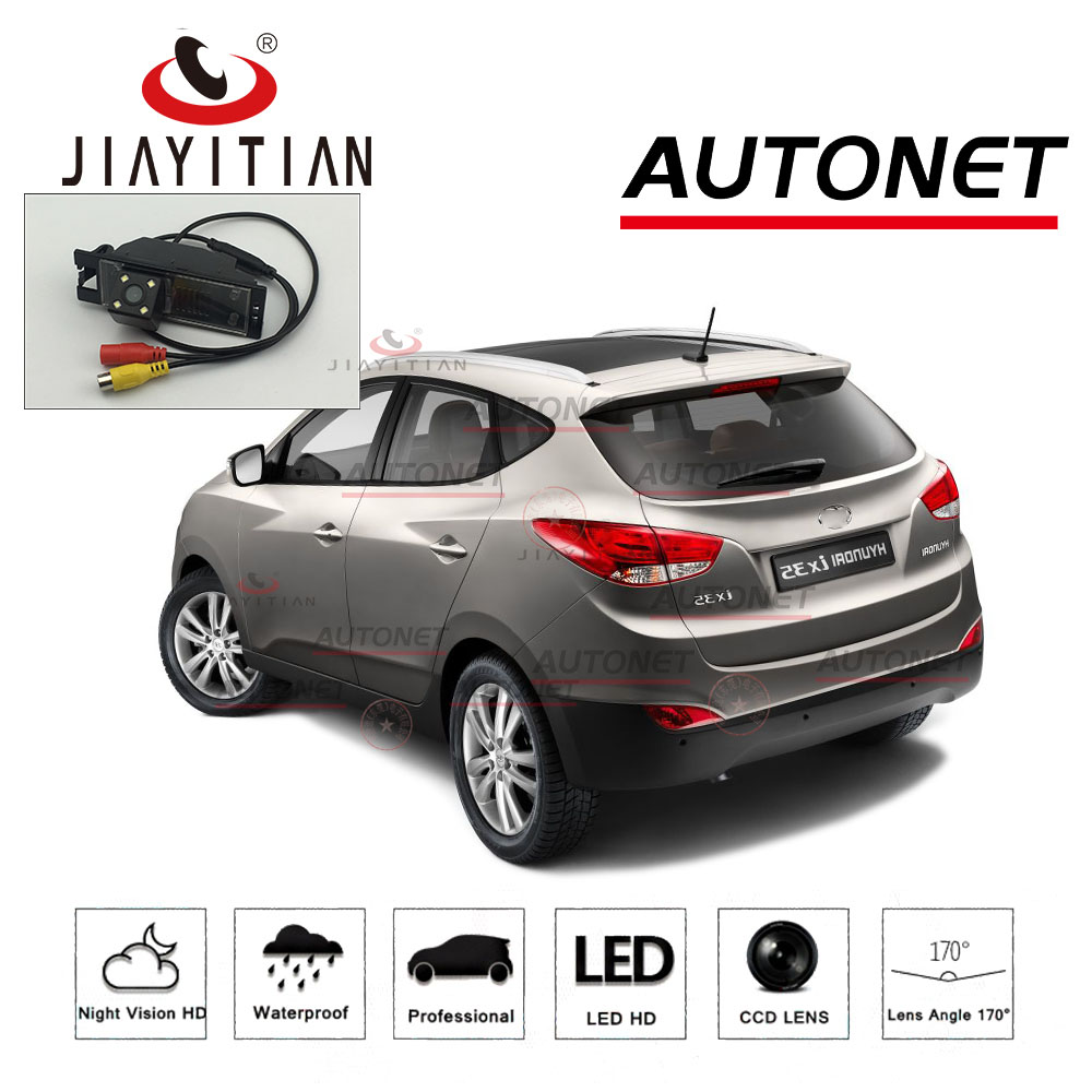 JIAYITIAN Rear View Camera For Hyundai ix35 2009~2015/Reverse Camera/HD CCD/Night Vision/ License Plate camera hot selling ccd camera ntsc system night vision car reverse rear view backup camera for hyundai ix35 camera promotion