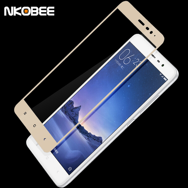 best loved 1e956 919d4 US $7.99 |NKOBEE Full Cover Tempered Glass for Xiaomi Redmi Note 3 Screen  Protector Film for Xiaomi Redmi Note 3 Pro Prime note3 mobile-in Phone ...