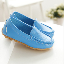 Spring new style baby boy leather shoes girls roller sneakers non-slip child Casual shoe kids soft PU Peas shoes for boys