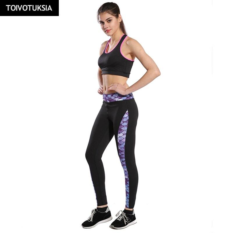 TOIVOTUKSIA Running Pants Skinny Leggings Women Sweatpants Workout Trousers Fitness Elastic Sporting Leggings Jogger Leggins