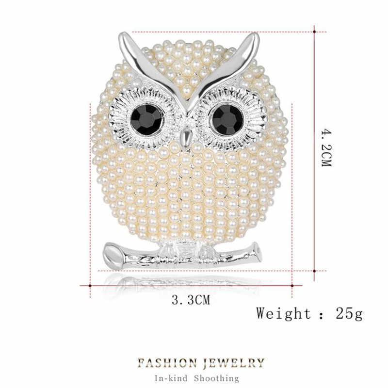 1 pc Terno de Negócio da moda Animais Coruja Aves Broches Broches Mulheres Óculos Exclusivos Para Luvas Saco de Areia Chapéus lenços
