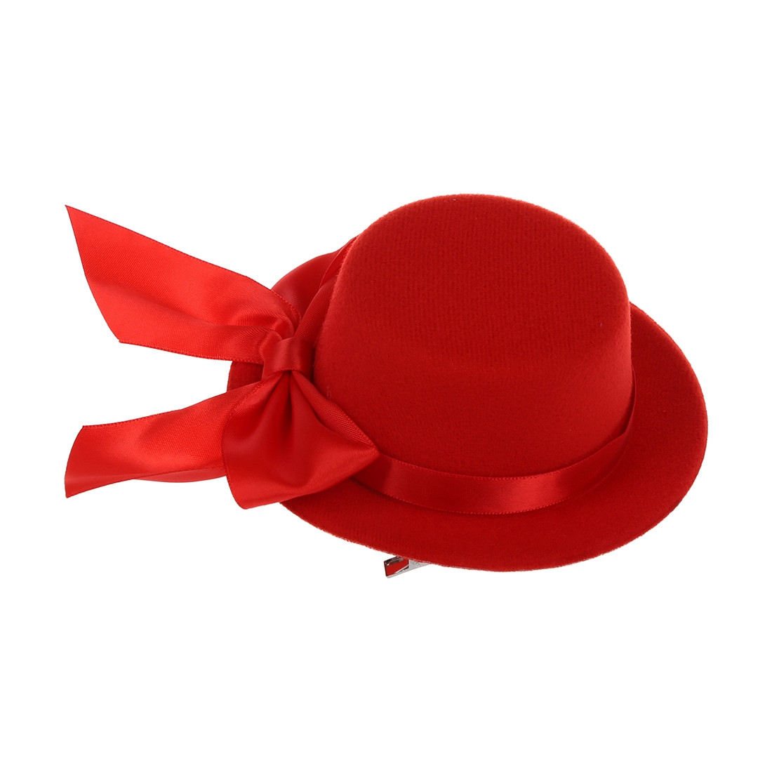 54302844f MYPF Ladies Mini Top Hat Fascinator Burlesque Millinery w/ Bowknot Red-in  Hair Accessories from Women's Clothing & Accessories on Aliexpress.com   ...