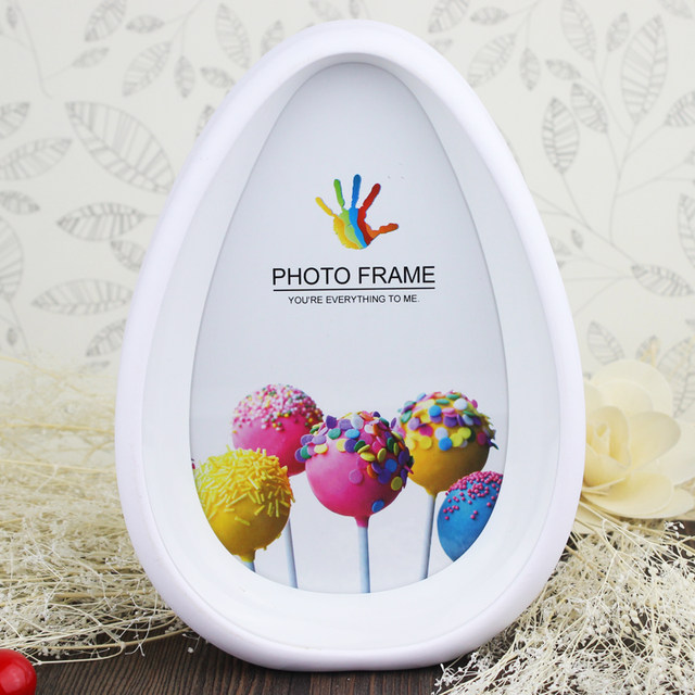 Online Shop Simple Double Sided 7 Inch Oval Photo Frame Baby Picture ...