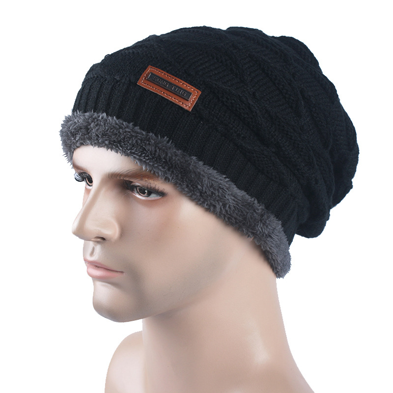 [WAREBALL] Beanies Knit Winter Hats For Men Women Beanie Men's Winter Hat Caps Skullies Bonnet Ski Sports Warm Baggy Cap aetrue beanies knitted hat winter hats for men women caps bonnet fashion warm baggy soft brand cap skullies beanie knit men hat