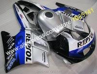 Hot Sales,Plastic Fairings For Honda CBR600F2 1991 1992 1993 1994 Parts CBR 600 F2 91 94 CBR600F2 Repsol Motorbike Fairing Kit