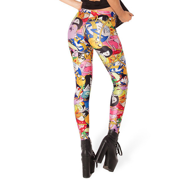 Neue charater cartoon frauen legging damen leggings jeggings frau - Damenbekleidung - Foto 6