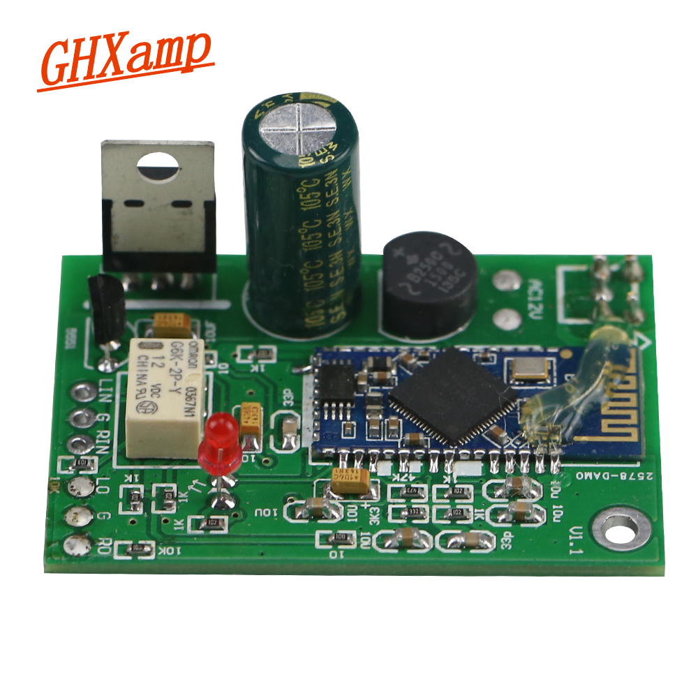 цены Bluetooth 4.2 APTX DAC CSR64215 Bluetooth Receiver Mill Board CD-level ES9023 Decoder Amplifier DIY Support Analog Input