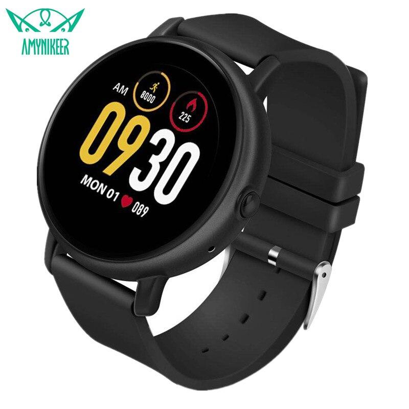 AMYNIKEER smart watch S666 smartwatch men activity fitness tracker heart rate monitor intelligent reminder 1 22