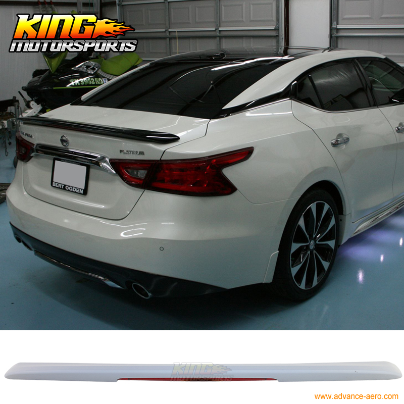 For For 2016 Nissan Maxima Sport Sr Trunk Spoiler With
