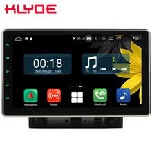 10,1 «ips вращающийся экран Восьмиядерный 4G Android 9,0 4 Гб ОЗУ 64 Гб ПЗУ 2DIN универсальный автомобильный dvd-плеер Радио Стерео gps ГЛОНАСС